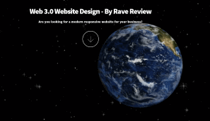 Rave Review Web3 Website Design
