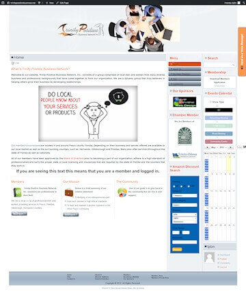 Customized Members Directory Website